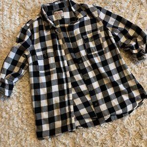 OLD NAVY buffalo plaid shirt